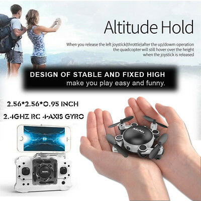 Camera Drone CX17+Mini 2.4GHz Gyro RC Helicopter WIFI Photography Plug US