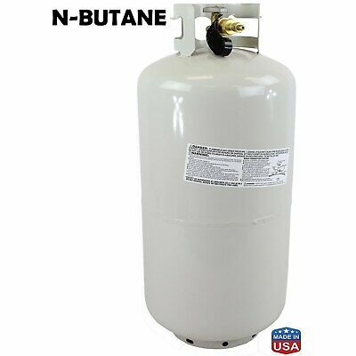120LB DIPTUBE Tank High Purity 99.5% USA MADE N-BUTANE EXTRACTION SOLVENT