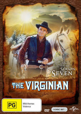 THE VIRGINIAN - COMPLETE SEASON 7 - DVD - UK Compatible - Sealed