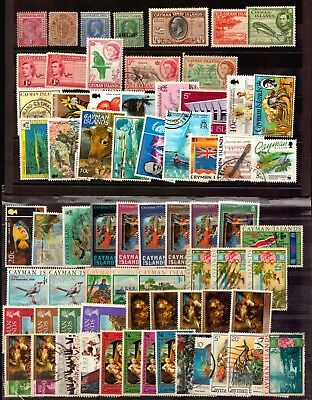 Cayman Islands Postally Used And Mint Bwi British Colony Stamps