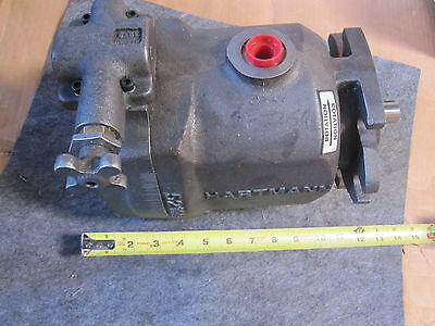 Hartmann Piston Pump Pvx Series 52081-10 Cast # 52166