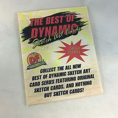 "THE BEST OF DYNAMIC FORCES ""SKETCH ART CARDS"" SEALED PACK by Breygent = 1 Sketch"
