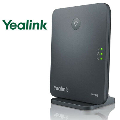 Yealink W60B DECT IP HD VoIP BASE STATION ONLY - Compatible with W56H Phone