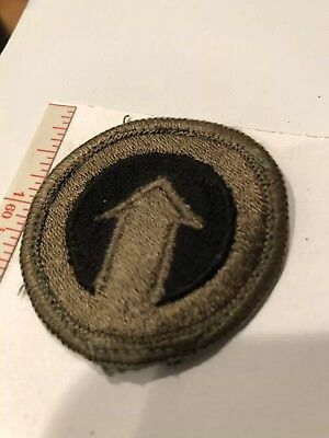 1st Logistical Command US Army WWII Original Embroidered Patch USA Stock # 405