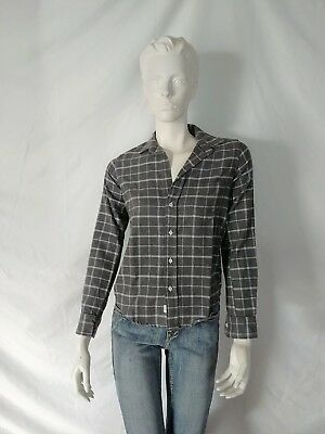a9cc2559 Frank & Eileen Barry Button Down Long Sleeve Shirt Top Flannel Size XXS NEW