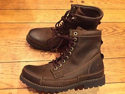 7145cee953e TIMBERLAND MEN'S EARTHKEEPERS Original Leather 6-inch Boots - US Size 8