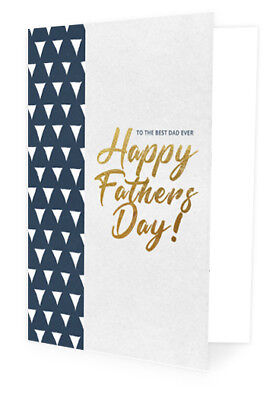 Greeting Card - Father's Day - TO THE BEST DAD EVER   HAPPY FATHERS DAY!