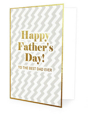 Greeting Card - Father's Day - HAPPY FATHERS DAY TO THE BEST DAD EVER !