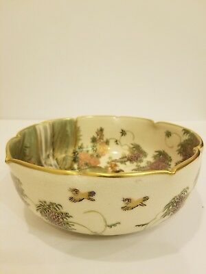 Magnificent Museum Grade  Antique Japanese Satsuma Bowl 6""