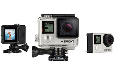 GoPro Hero 4 Silver Waterproof Touchscreen Action Camera