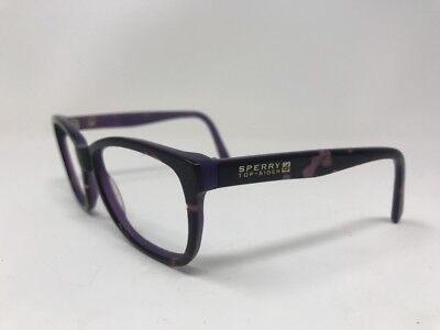 72f12a7ad6 Sperry Top Sider Wellfleet Sunglasses 55-17-135 Purple Brown Marble DD99
