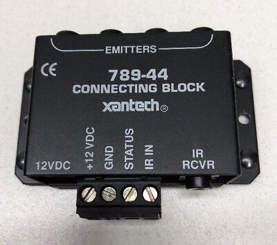 Xantech 789-44 IR RCVR Connecting Block