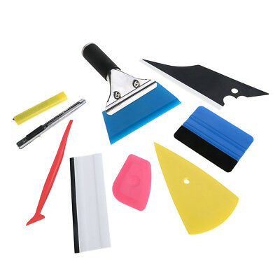 Micro Squeegee Car Wrapping Window Tint Vinyl Felt Gasket Application Tool US