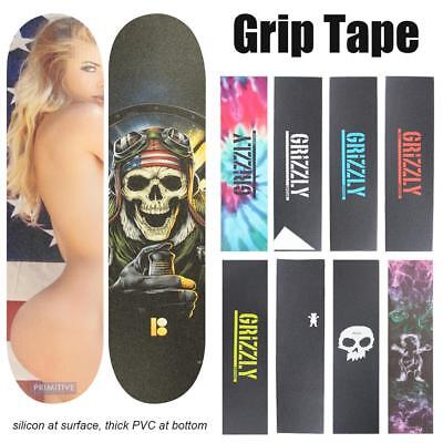Colorful Skateboard Sandpaper Thickening Wear-Resistant Anti-Skid Grip Tape