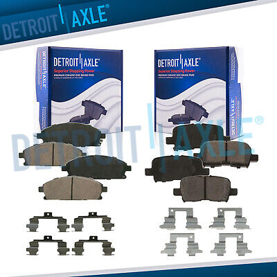 Centric Front /& Rear Ceramic Brake Pads 2SET For Acura MDX 2001 2002