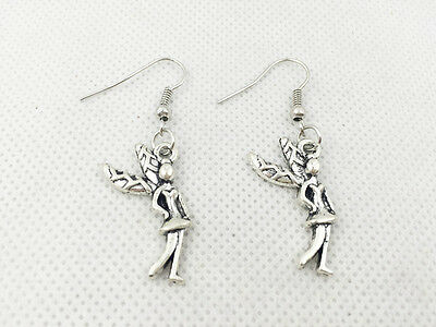 New 1 pair Free Fashion Antique silver Jewelry style earring Jeweller Elf