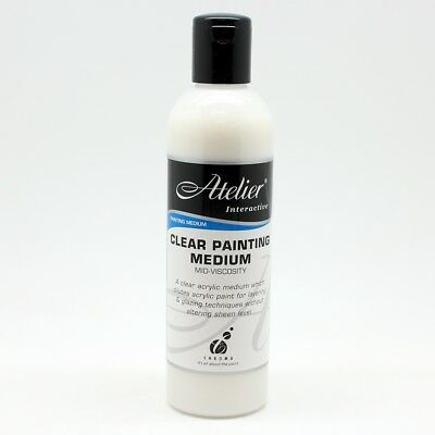 Atelier Clear Painting Medium Mid-Vis 250ml
