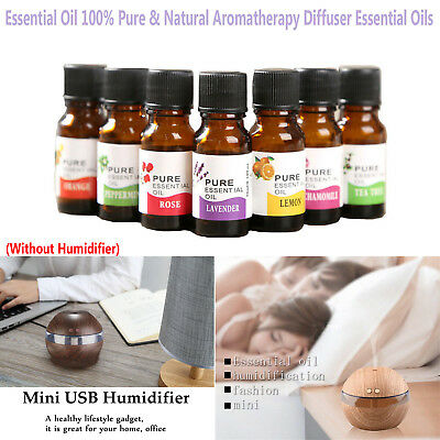 Pure 100% Vantage Essential Oil Natural Aromatherapy Diffuser Fragrance-8 Scent