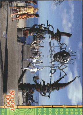 2002 Scooby Doo The Movie Non-Sport Card #15 Welcome To Spooky Island