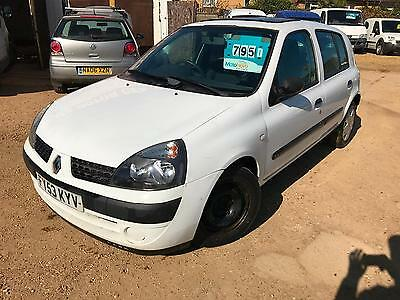 2003 Renault Clio 1.4 16v Expression P/X WELCOME