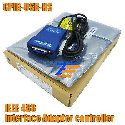 Gpib-Usb-Hs Interface Adapter Controller Ieee 488 New In Box Usa Free Shipping