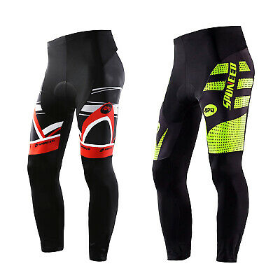 Cycling Pants Padded Men MTB Road Cycle Tights Outdoor Sports Leggings Quick Dry