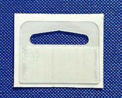 euro hook slot sticky hang tabs, , hangers, Strong Adhesive 25/50/100/500/1000
