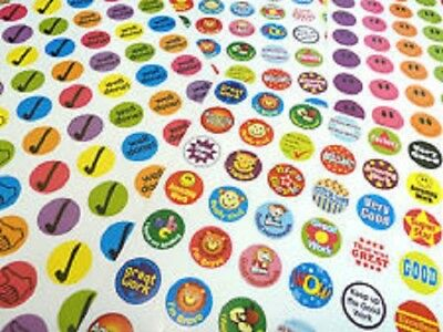 280 Childrens Reward Stickers for Kids Motivation ,Merit / Praise School Teacher
