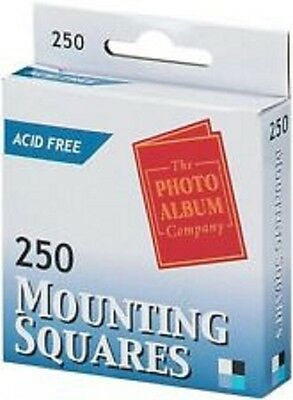 250 Photo Mounts - Acid Free Mounting Squares (The Photo Album Company)