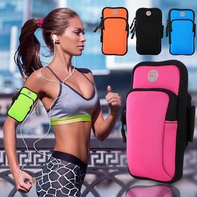 Portable Outdoor Sports Wrist Arm Band Bag Pouch Mobile Cell Phone Holder Wallet