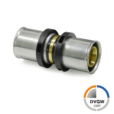 DVGW TH Pressfitting Pipetec Press-Wandwinkel 16x2mm 52mm ½/""