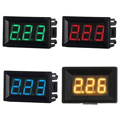 Mini 0.56in LED Digital Display DC 0-10A 2-Wire Ammeter Current Amp Panel Meter