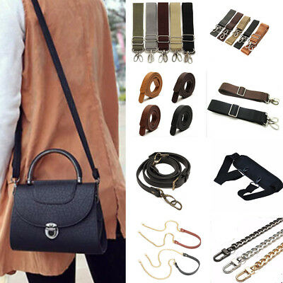 19 Replacement Canvas Chain Leather Nylon Carrying Shoulder Crossbody Bag Strap