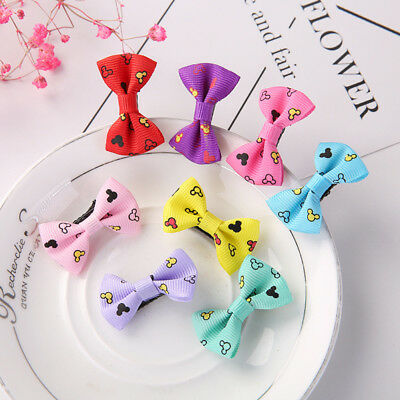10pcs Kids Baby Girls Children Toddler Hair Clip Bow Accessories Hairpin WU6