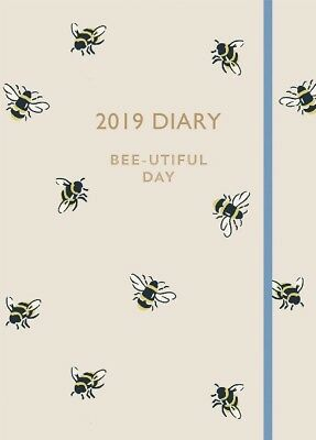Cath Kidston Bumble Bee 2019 A6 Diary NEW