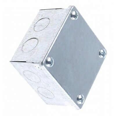 Metal Adaptable Project Box With Knockouts 150x75x50 Clearance Stock!!