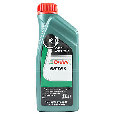 Castrol RR363 Brake Fluid for pre 1980 Rolls Royce & Bentley models 1 Litre 1L
