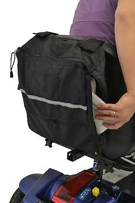"""Side Access Seatback Bag for Wheelchairs and Mobility Scooters 12""""W x 13""""H x 4""""D"""