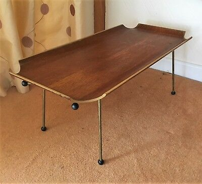 Vintage bentwood bed tray in oak (ref 18.8.042)