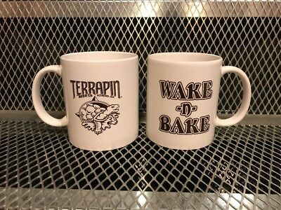 TERRAPIN BEER CO BREWING ~ NEW ~ WAKE n' BAKE Imperial Stout ~ COFFEE MUG Cup