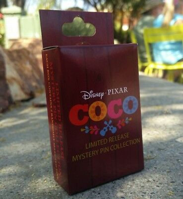 Disney Parks & Pixar's Coco Pin Collection Mystery Box with 2 pins