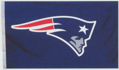 New England Patriots 2' x 3' NFL Licensed Logo Flag / Banner - Free Shipping