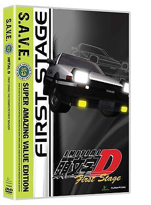 Initial D First Stage SAVE Complete Anime Box DVD Set Collection Episodes Series