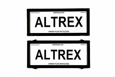 Altrex Number Plate Cover 5 Figure Black Without Lines
