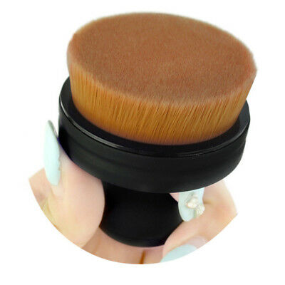 Cosmetic Beautiful Makeup Brush Powder Blush Flat Round Foundation Seal Face