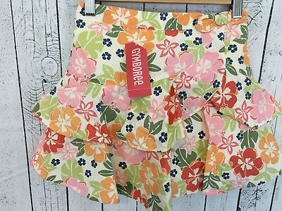 NWT Gymboree Floral Ruffle Skirt Skorts Size 8 Years New With Tags Y2