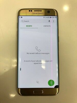 Samsung Galaxy S7 Edge 32GB SM-G935 Unlocked GSM Android LINE & BLACK DOT ON LCD