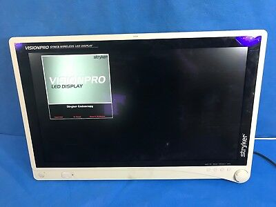 """Stryker 240-031-000 26"""" VisionPro Synk Wireless LED Display w/ Power Supply"""