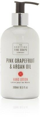 Scottish Fine Soaps Hand Lotion Pink grapefruit and Argan Oil 300ml