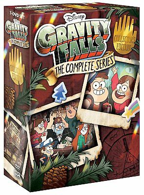 Gravity Falls The Complete Series Disney Blu-ray Set Collection Episodes Seasons